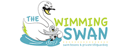 The Swimming Swan | Swim Lessons and Private Lifeguard Services Logo