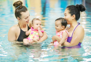 Mommy and Me Swimming Lessons