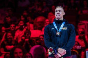 Caeleb Dressel awarded gold medal