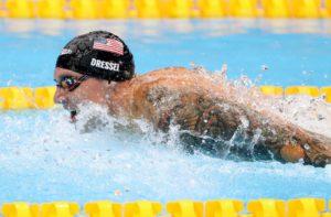 Olympic Swimmer Caeleb Dressel