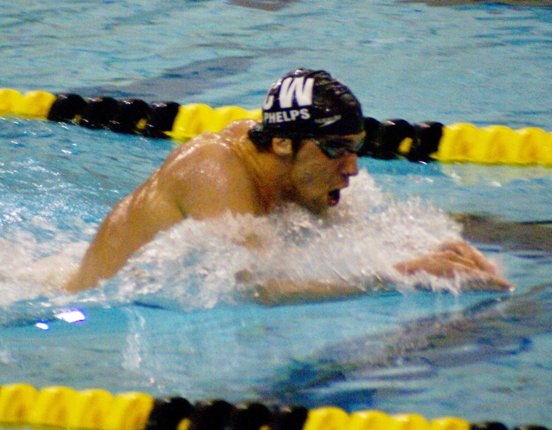 Michael Phelps Swimming Perfect Breaststroke